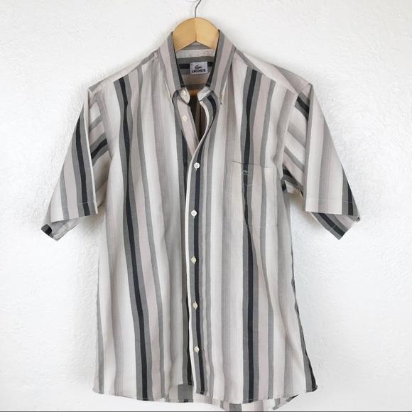 e66cdb61 LACOSTE Men's Button Down shirt. M015